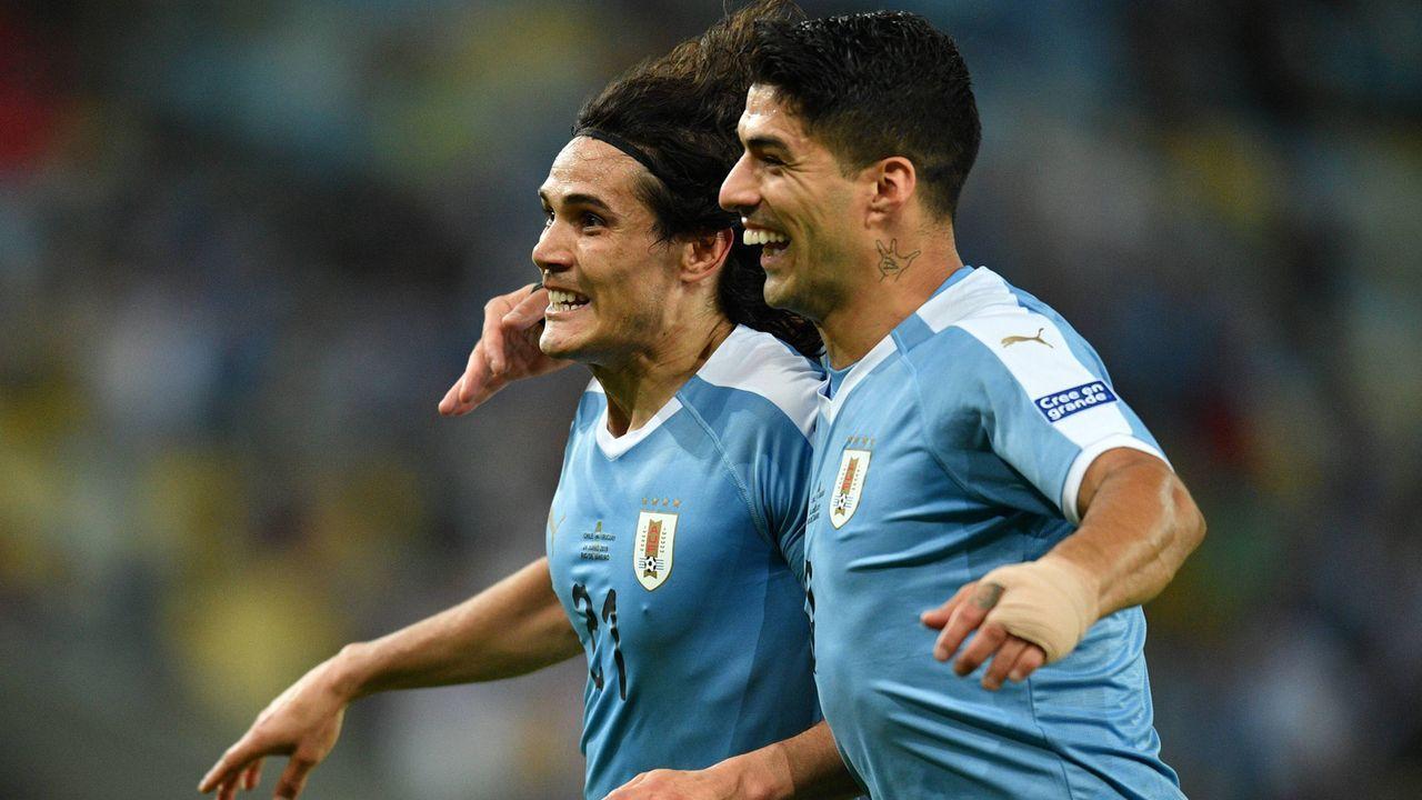 Platz 1: Uruguay - Bildquelle: imago images / Xinhua