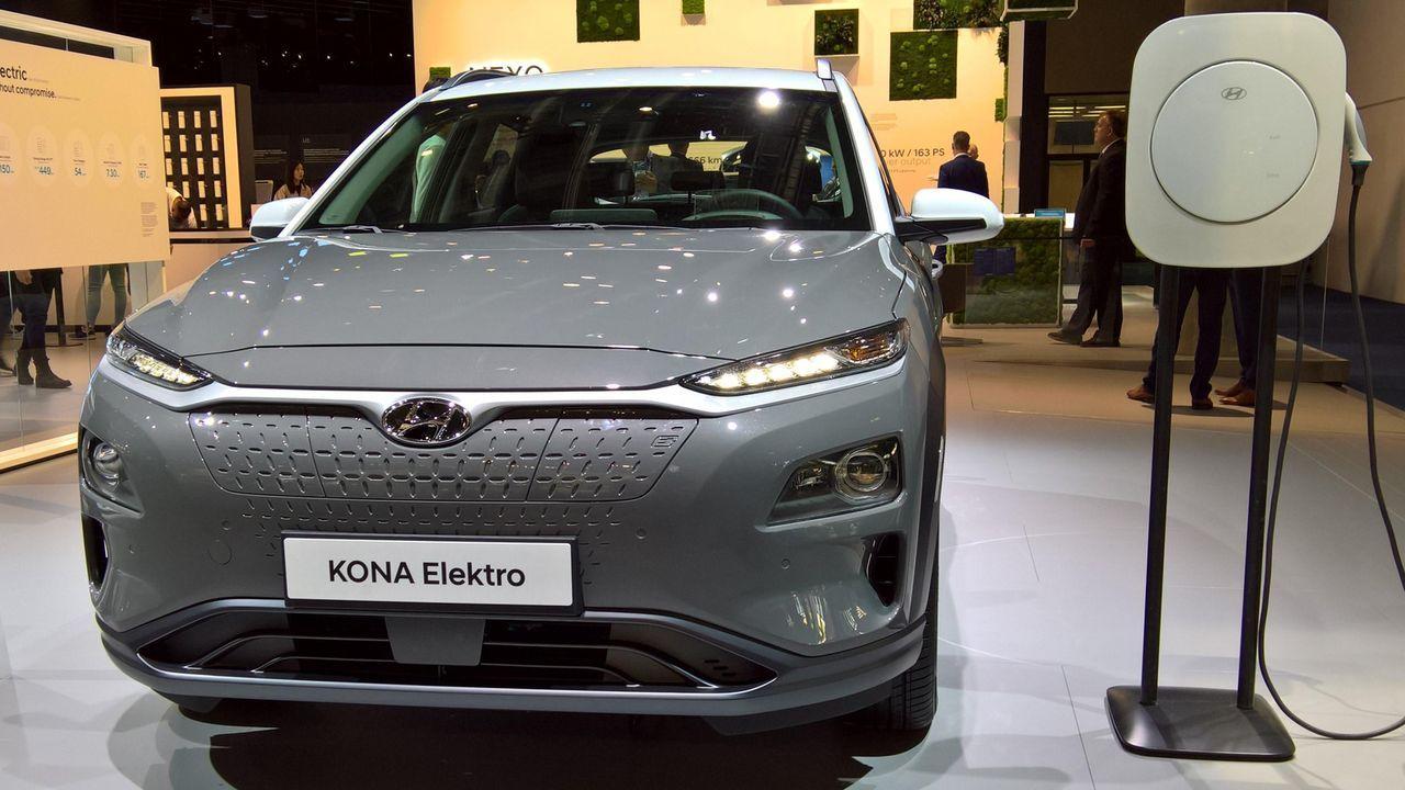Hyundai Kona Elektro - Bildquelle: imago images / Manfred Segerer