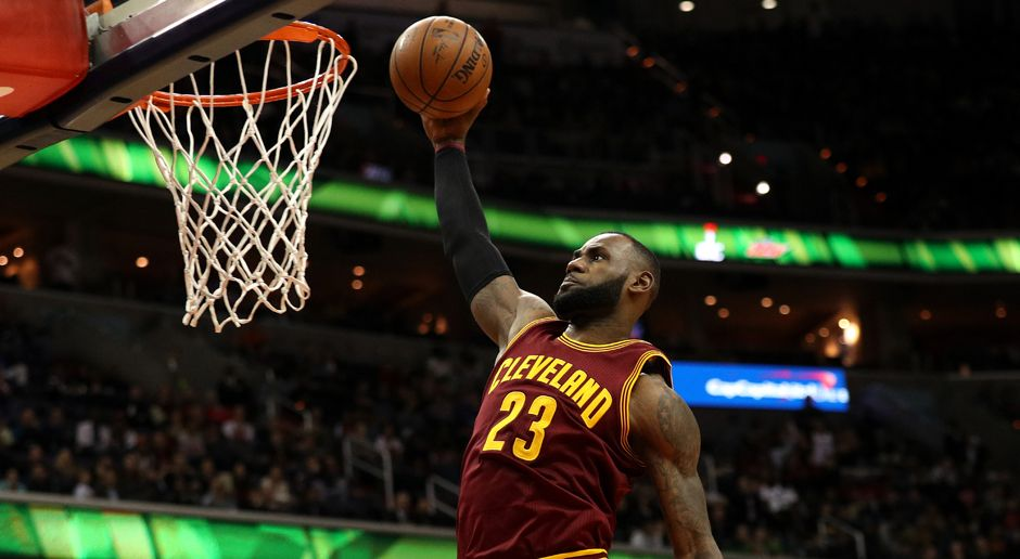 Platz 1: Cleveland Cavaliers (Basketball) - Bildquelle: getty images