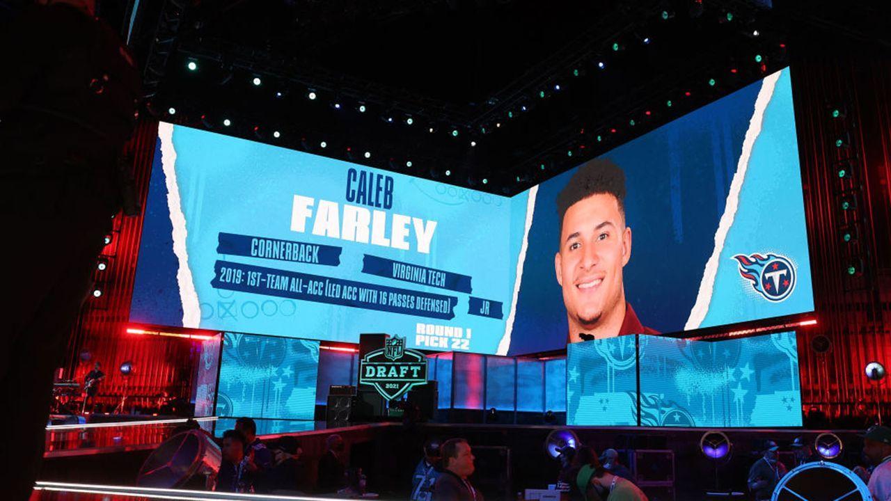 Caleb Farley (Cornerback/Tennessee Titans) - Bildquelle: 2021 Getty Images