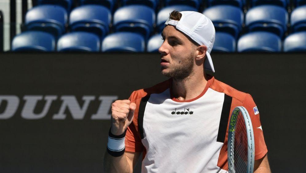 Struff steht im Viertelfinale des ATP-Turniers - Bildquelle: AFPSIDPAUL CROCK