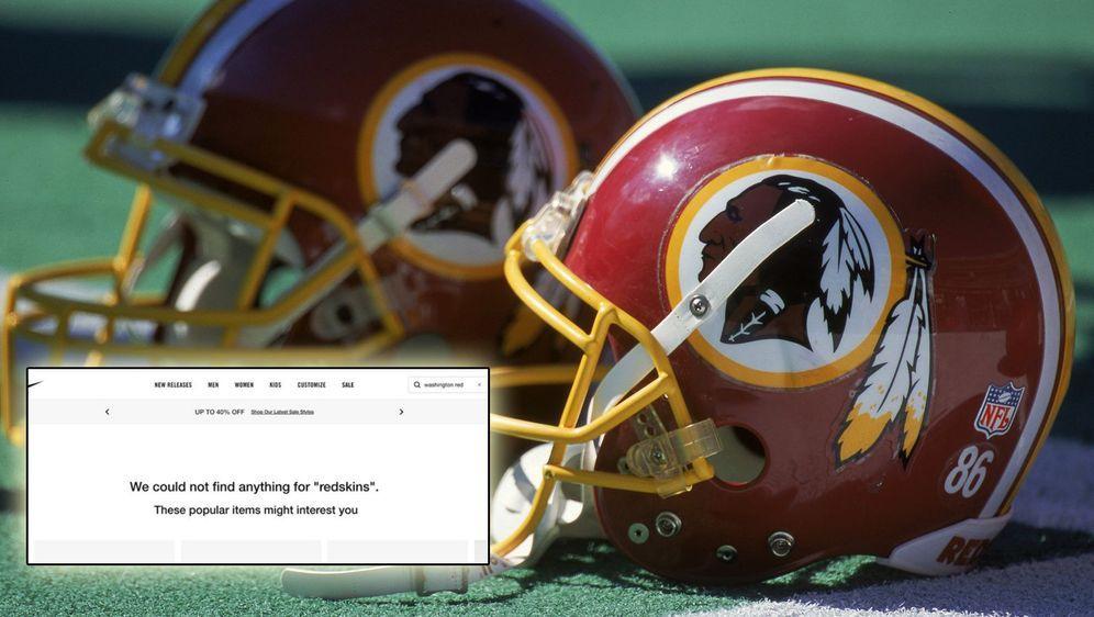 """Die Franchise verwendet seit 1933 den Namen """"Redskins"""". - Bildquelle: getty"""