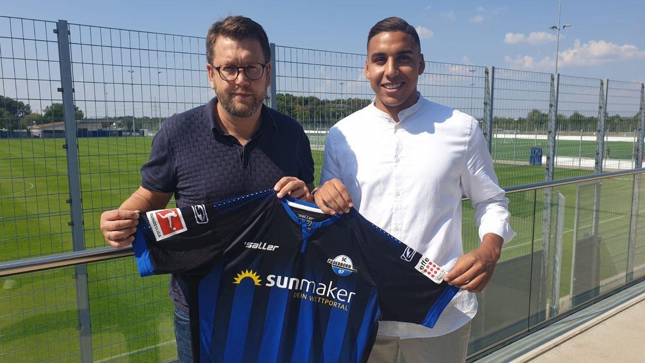 Abdelhamid Sabiri (SC Paderborn) - Bildquelle: twitter.com/SC Paderborn