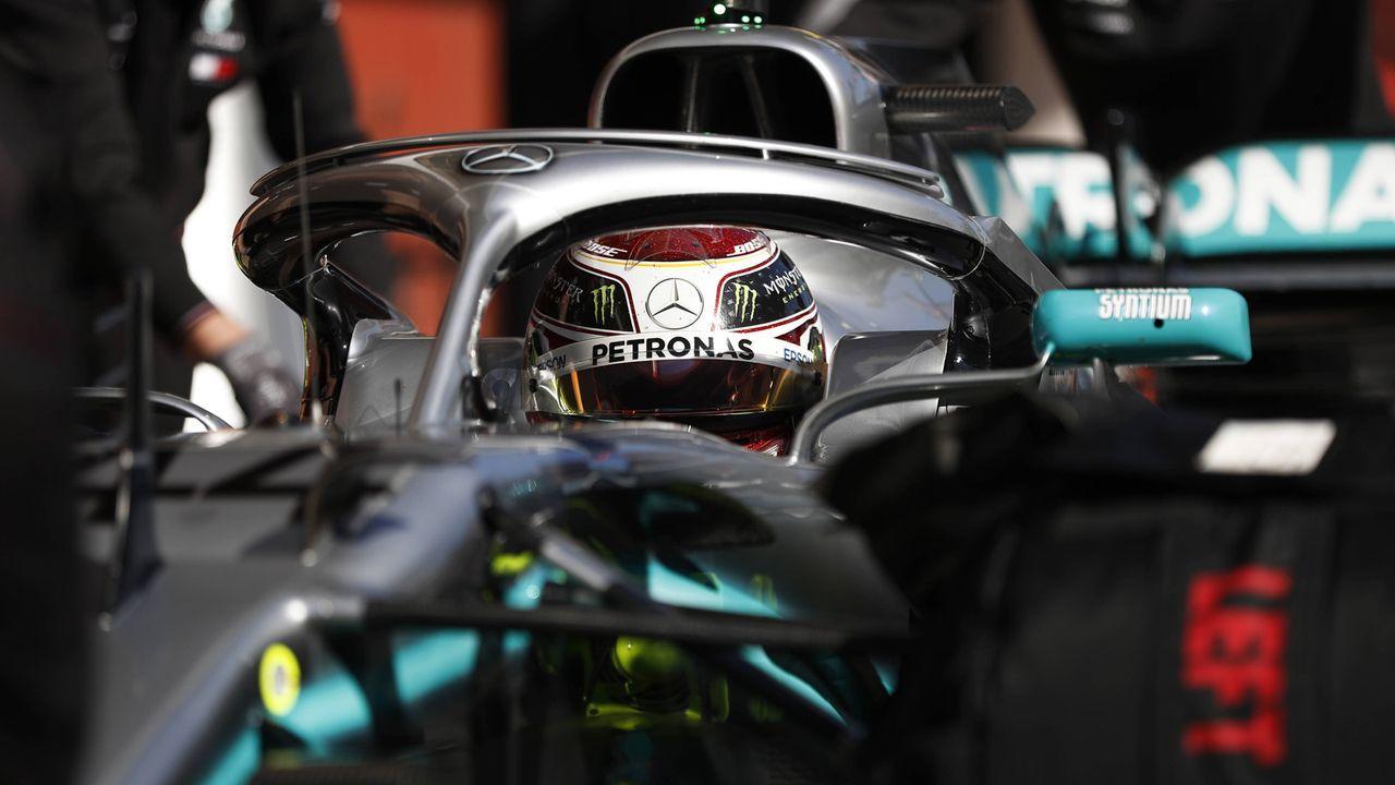 Mecedes Petronas (2018)  - Bildquelle: imago/Motorsport Images