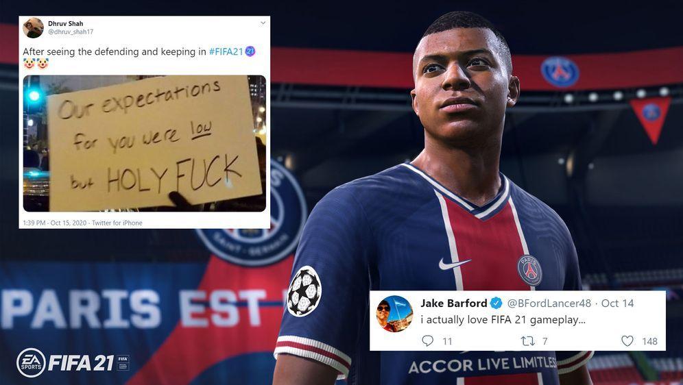 Wie kommt FIFA 21 nach einer Woche in der Community an? - Bildquelle: EA Sports/Twitter
