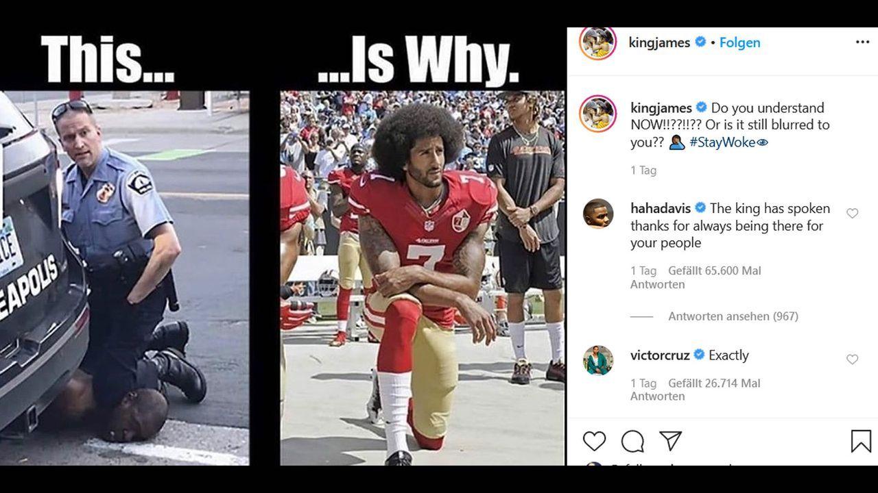 LeBron James - Bildquelle: instagram.com/kingjames