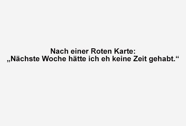 Eh keine Zeit gehabt - Bildquelle: ran.de