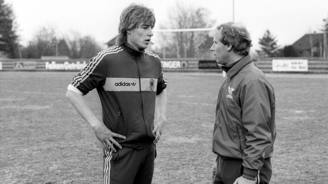 Berti Vogts war erster Trainer - Bildquelle: imago sportfotodienst