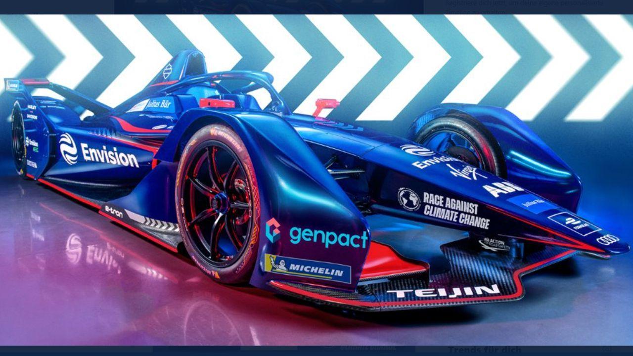 Envision Virgin Racing - Bildquelle: Sreenshot: instagram @EnvisionVirgin