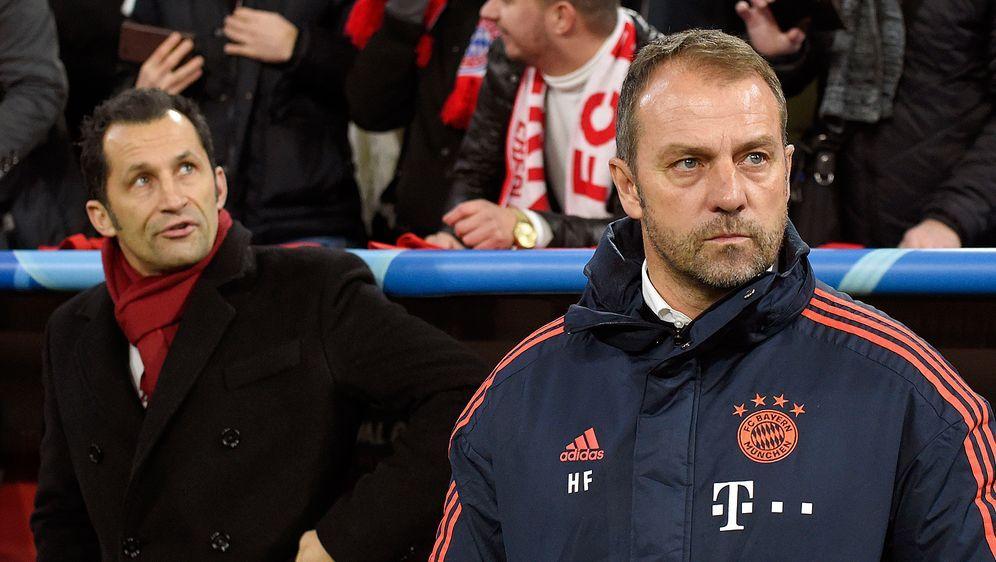 Erster kleiner Knatsch: Bayern-Sportdirektor Hasan Salihamidzic gefiel Train... - Bildquelle: getty