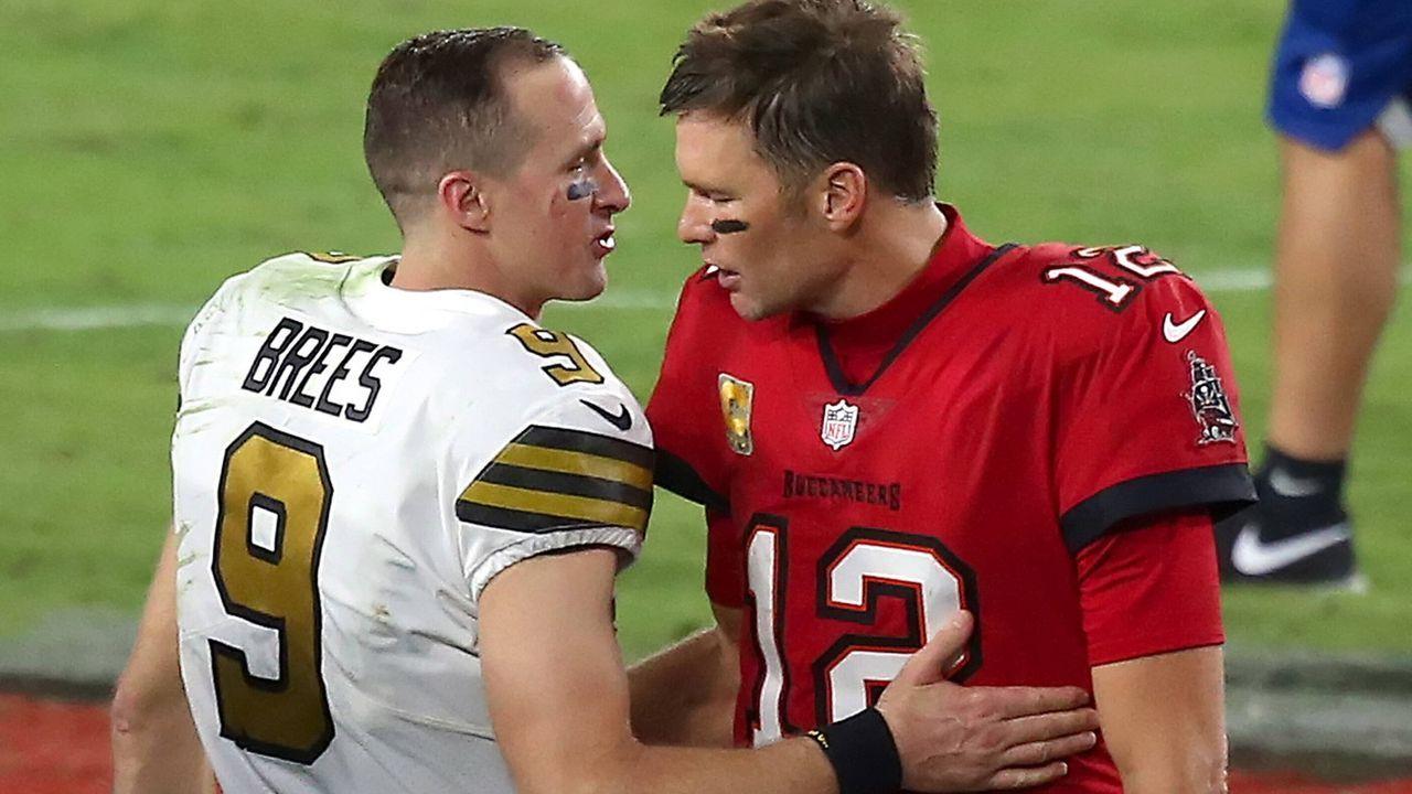 Bucs at Saints: Tom Brady vs. Drew Brees - Bildquelle: Getty