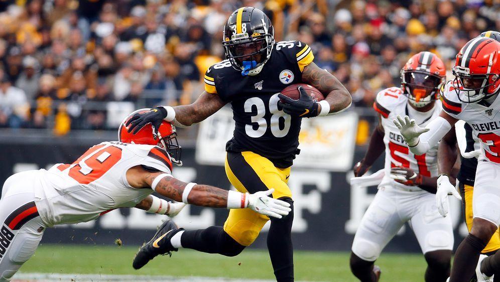Die Pittsburgh Steelers besiegen die Cleveland Browns. - Bildquelle: 2019 Getty images