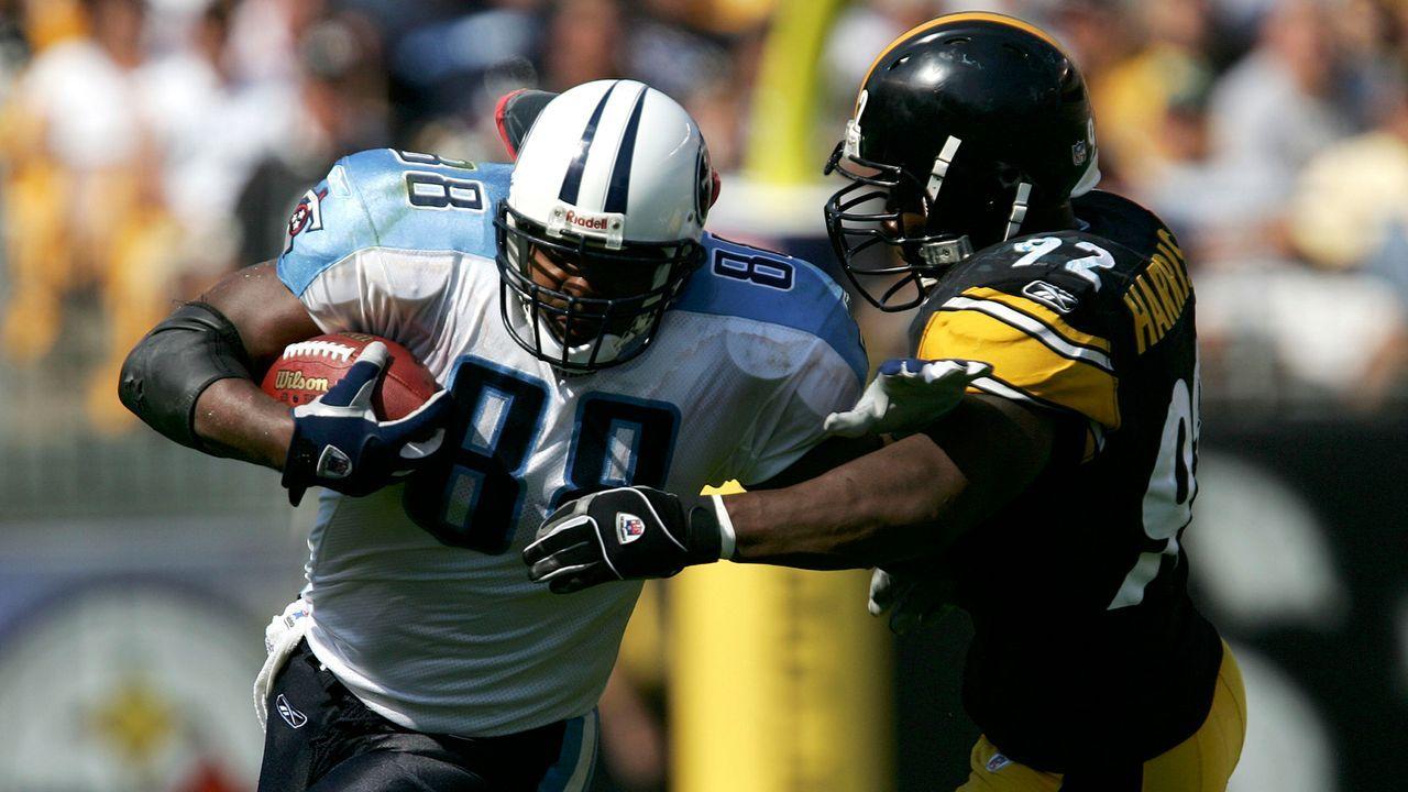 Tennessee Titans at Pittsburgh Steelers - 2 Stunden 35 Minuten - Bildquelle: 2005 Getty Images