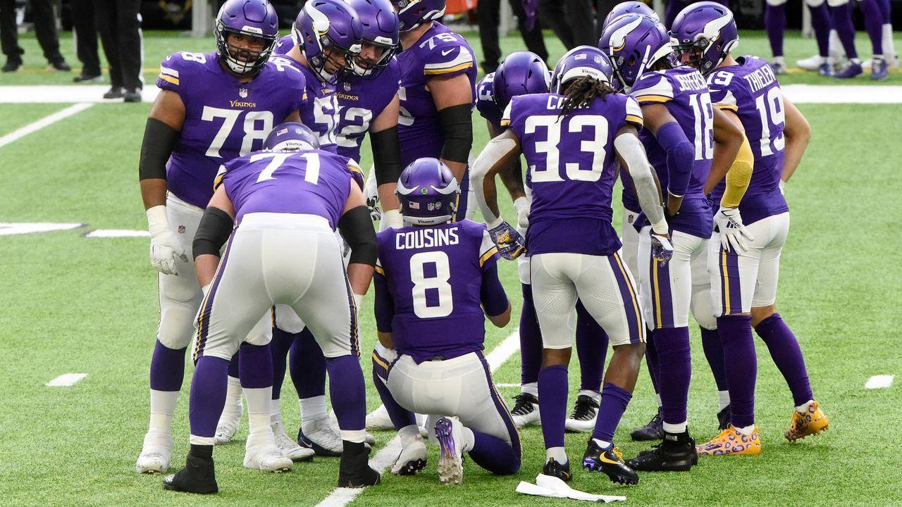 Platz 22 - Minnesota Vikings