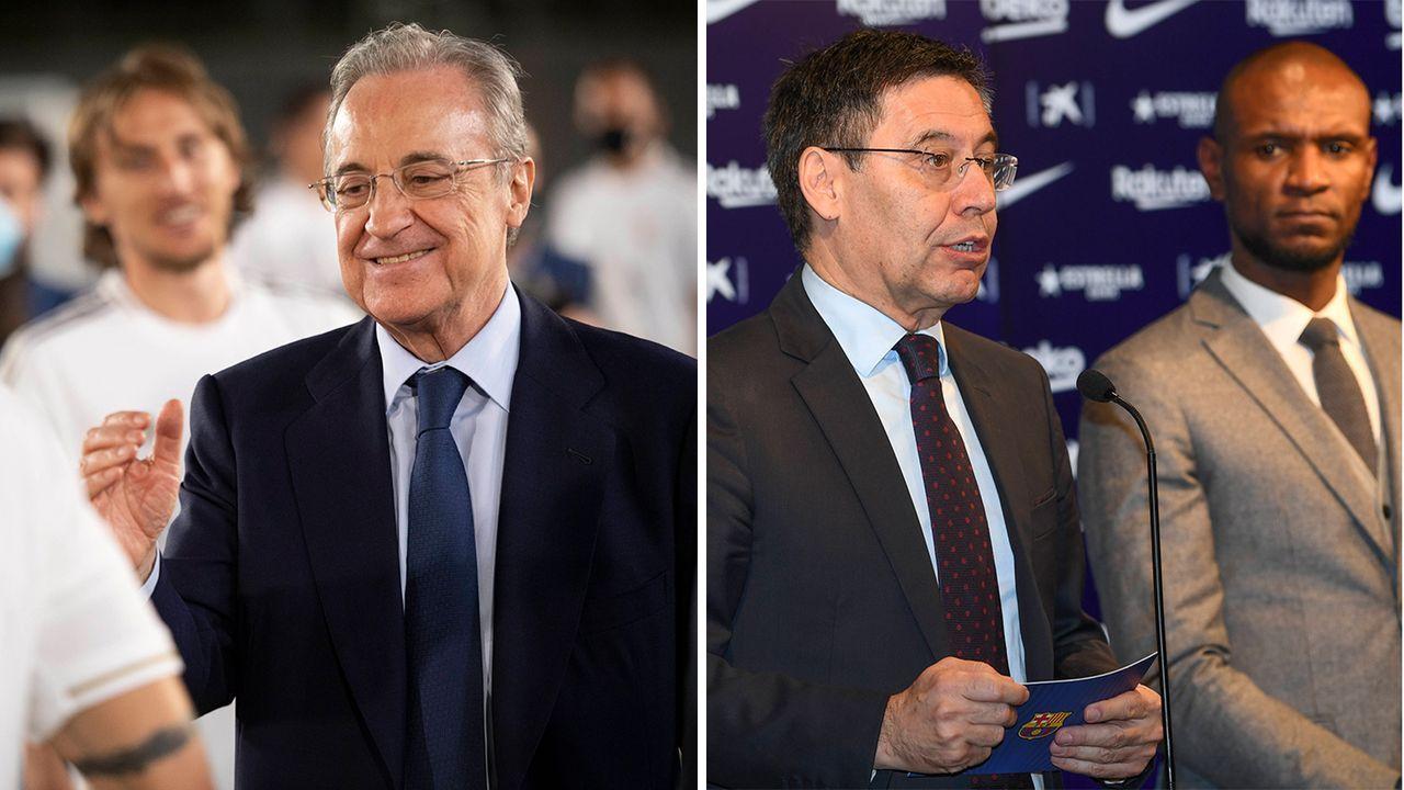 Real und Barca im Vergleich: Stimmung im Klub - Bildquelle: Imago