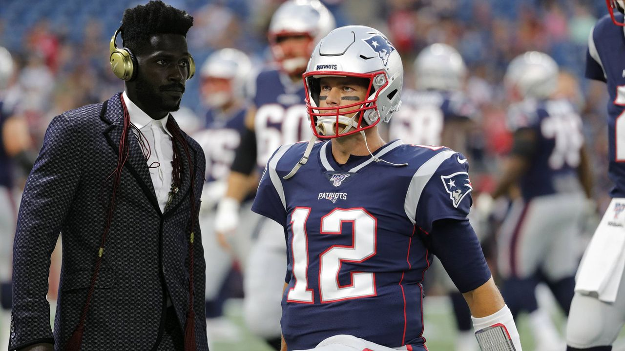 Tom Brady bietet Antonio Brown Obdach - Bildquelle: imago