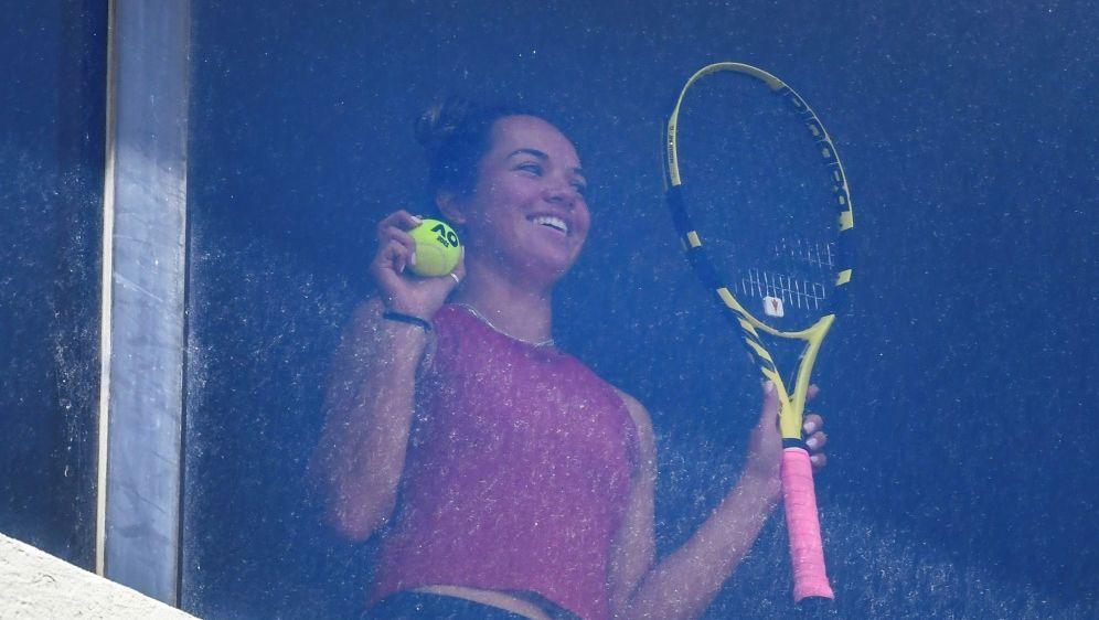 Tennis-Profis in Melbourne weiter im Hotelzimmer - Bildquelle: AFPSIDWilliam WEST