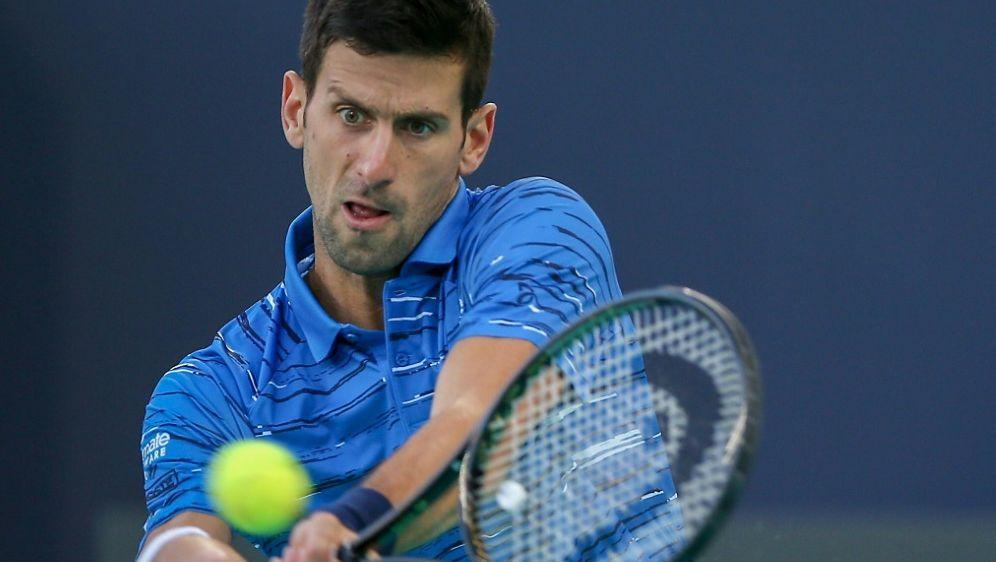Trifft im Halbfinale auf Federer: Novak Djokovic - Bildquelle: AFPSID-