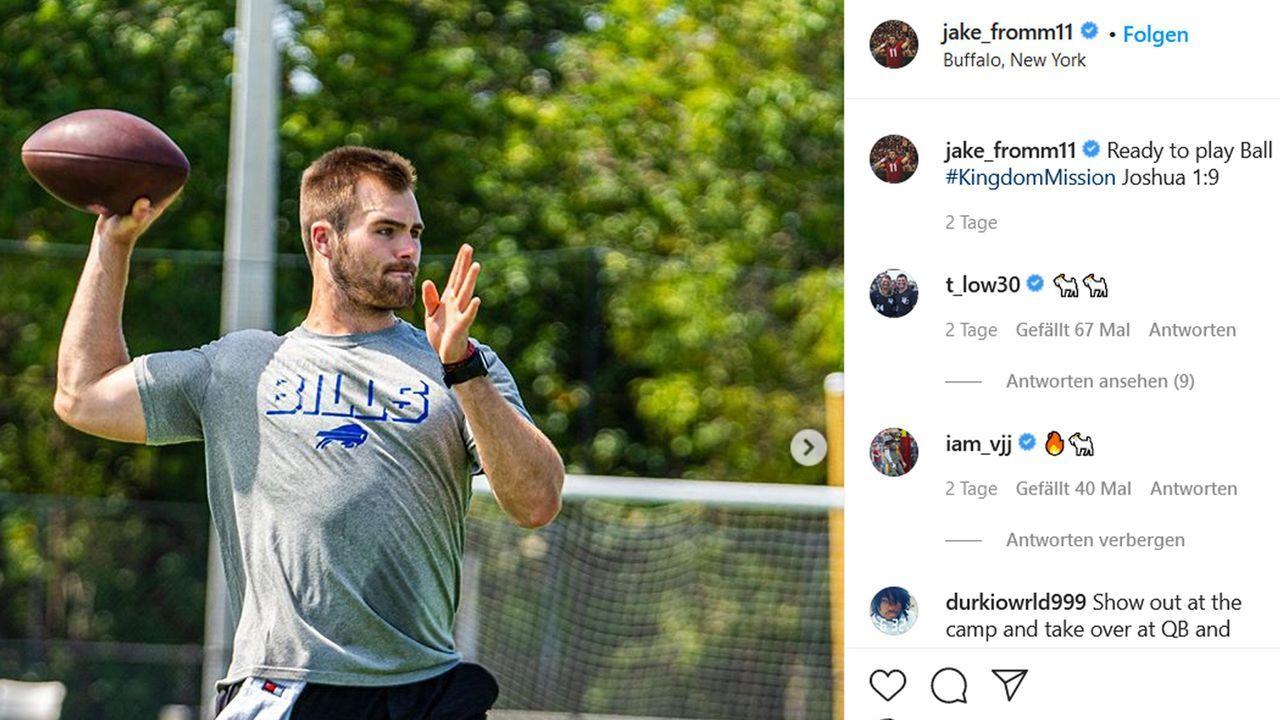 Jake Fromm (Buffalo Bills)