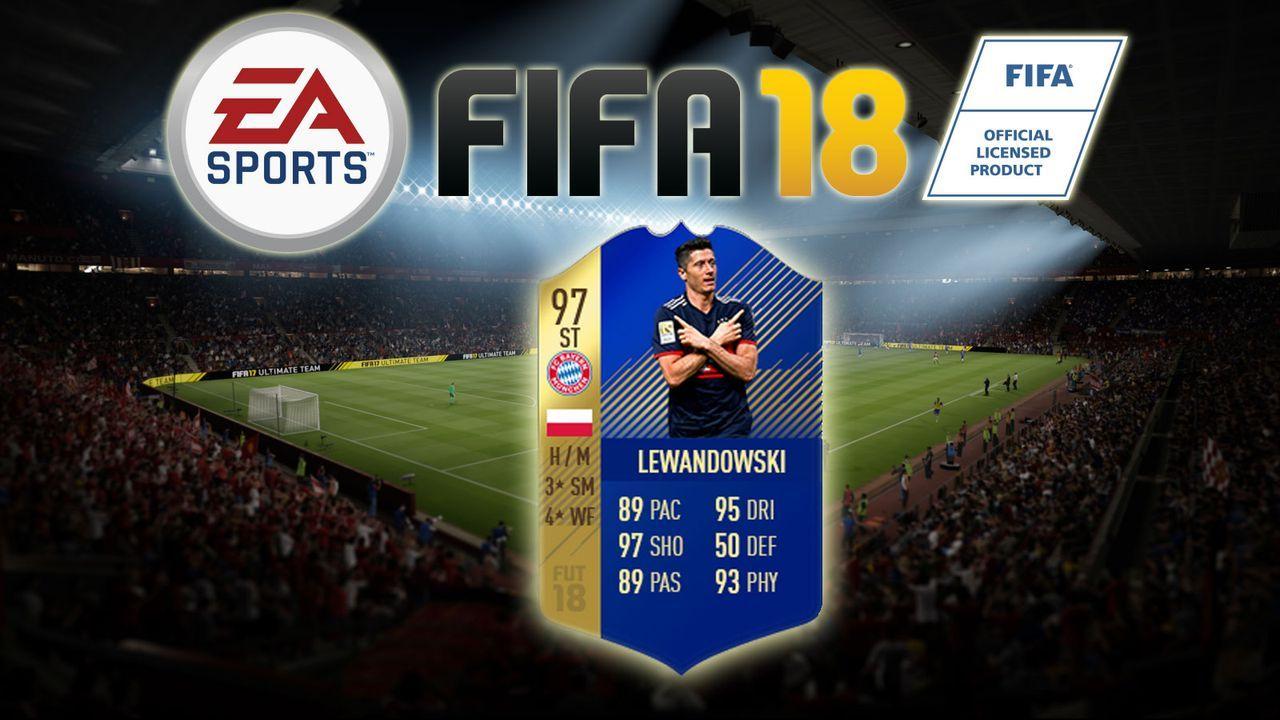 Robert Lewandowski - Bildquelle: EA Sports