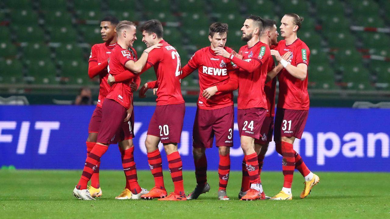 Platz 4: 1. FC Köln - Durchschnittlicher Tabellenplatz der Gegner: 6,3 - Bildquelle: getty