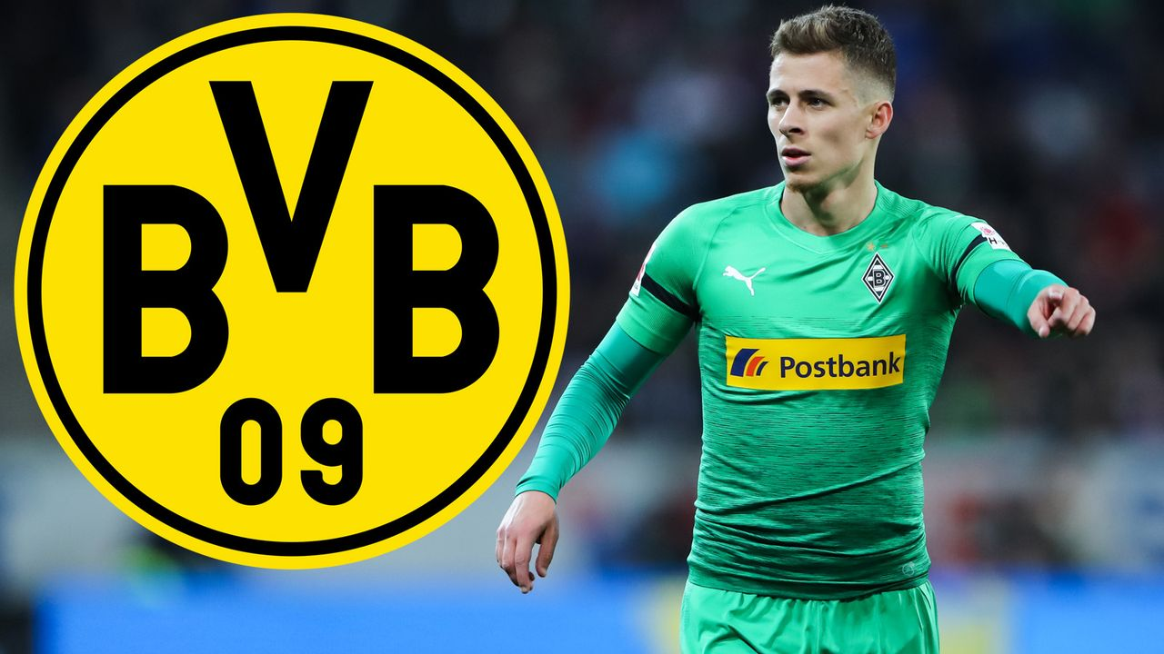 Thorgan Hazard (Borussia Mönchengladbach) - Bildquelle: 2019 Getty Images
