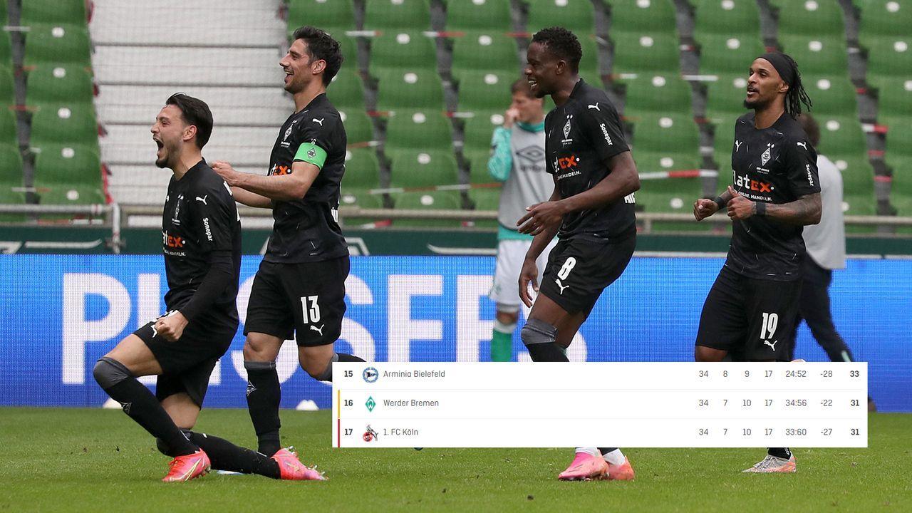 58. Minute: Bremen geht unter - Bildquelle: Getty Images