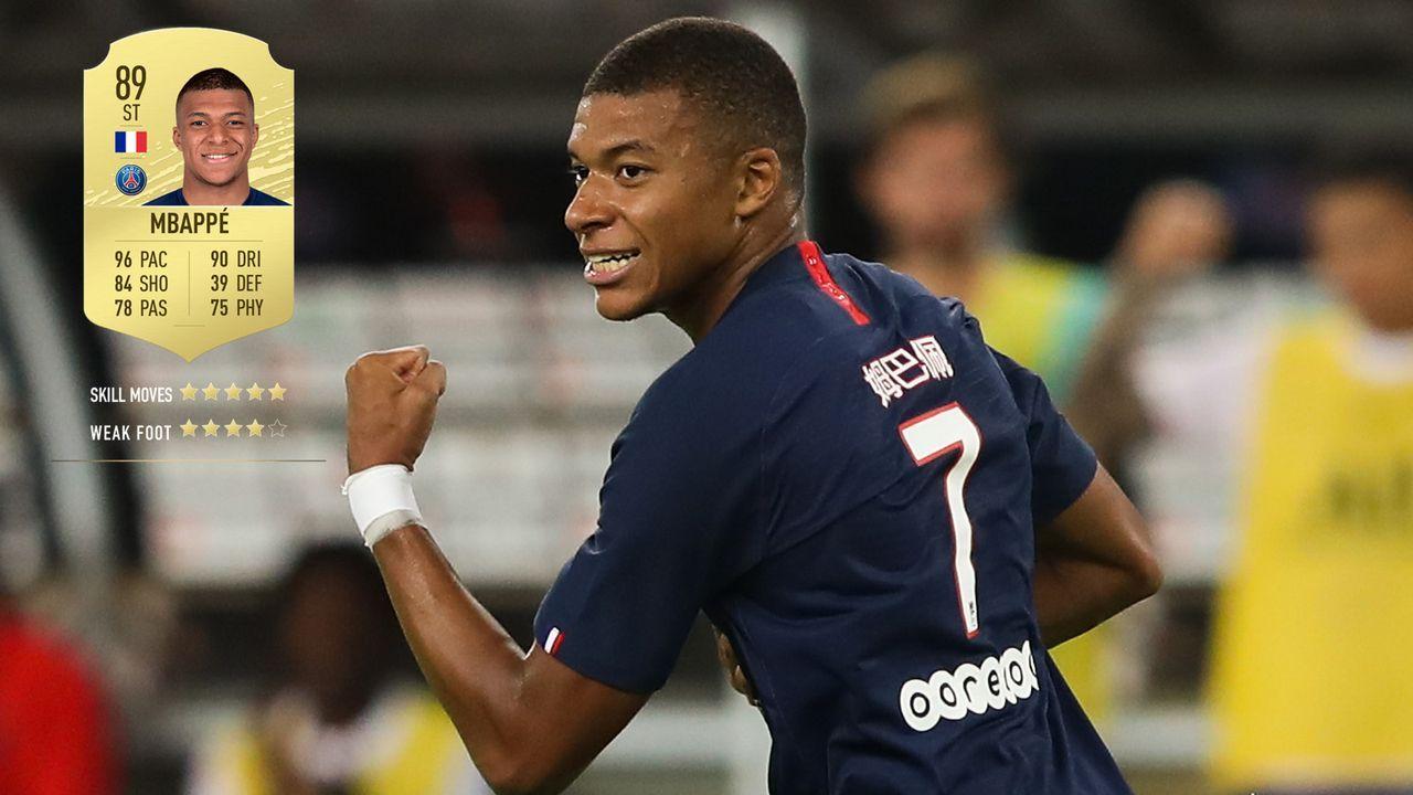 11. Kylian Mbappe (Paris Saint-Germain)  - Bildquelle: 2019 Getty Images
