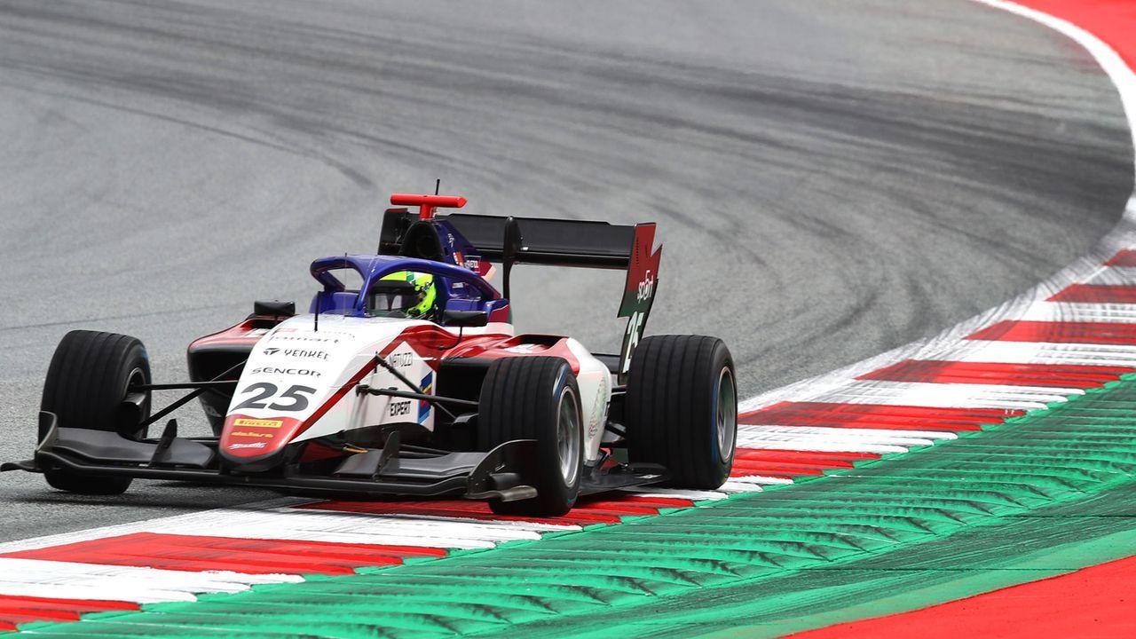 David Schumacher (Formel 3) - Bildquelle: Getty Images