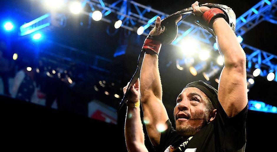 Insgesamt sieben UFC-Titelverteidigungen - Bildquelle: Getty Images
