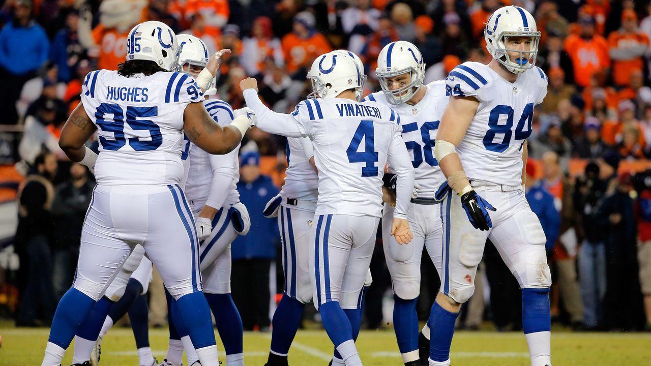 Platz 8 (geteilt): Indianapolis Colts - Bildquelle: 2015 Getty Images