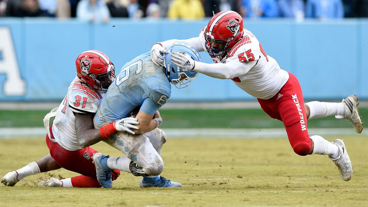 NC State Wolfpack - Rivalry Game: Vorteil Tar Heels - Bildquelle: 2018 Getty Images