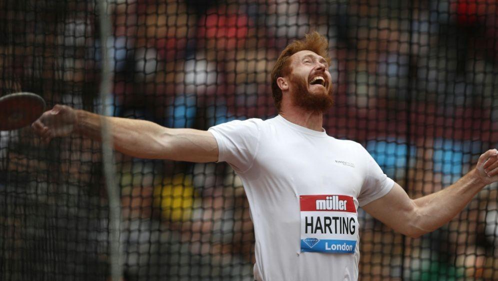 Christoph Harting belegte in London Rang sieben - Bildquelle: AFPSIDADRIAN DENNIS