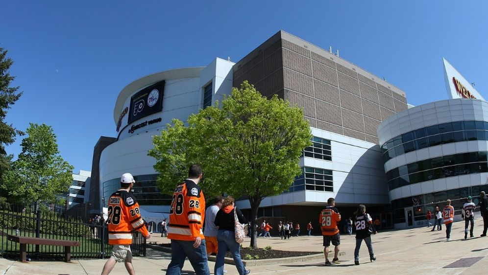 Neue Attraktion im Wells Fargo Center - Bildquelle: GETTY AFPSIDJim McIsaac