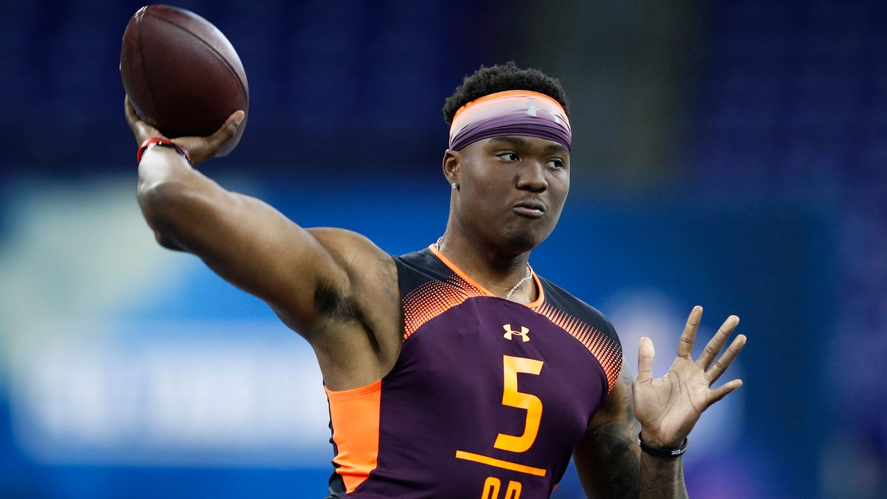 15. Pick - Washington Redskins: QB Dwayne Haskins (Ohio State) - Bildquelle: 2019 Getty Images