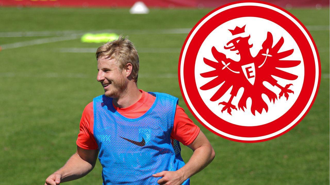 Martin Hinteregger (Eintracht Frankfurt) - Bildquelle: Klaus Rainer Krieger, Inninger Strasse 43c, D-86179 Augsburg. krieger.augsburg@gmx.de Tel. +49(0)821-80896924,