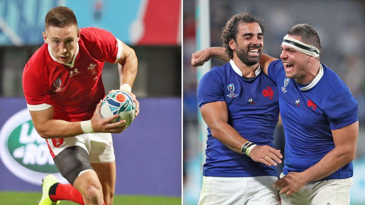 Wales vs. Frankreich (Sonntag ab 9 Uhr live auf ProSieben MAXX) - Bildquelle: Getty