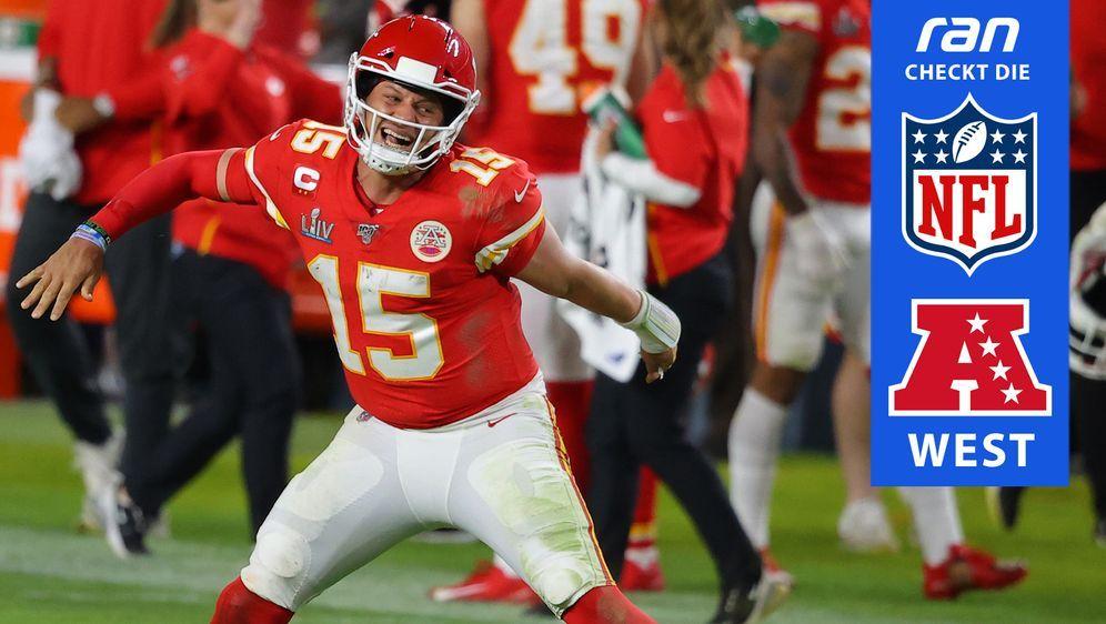Auch 2020 führt der Weg in die Playoffs in der AFC West über die Chiefs. - Bildquelle: Getty Images