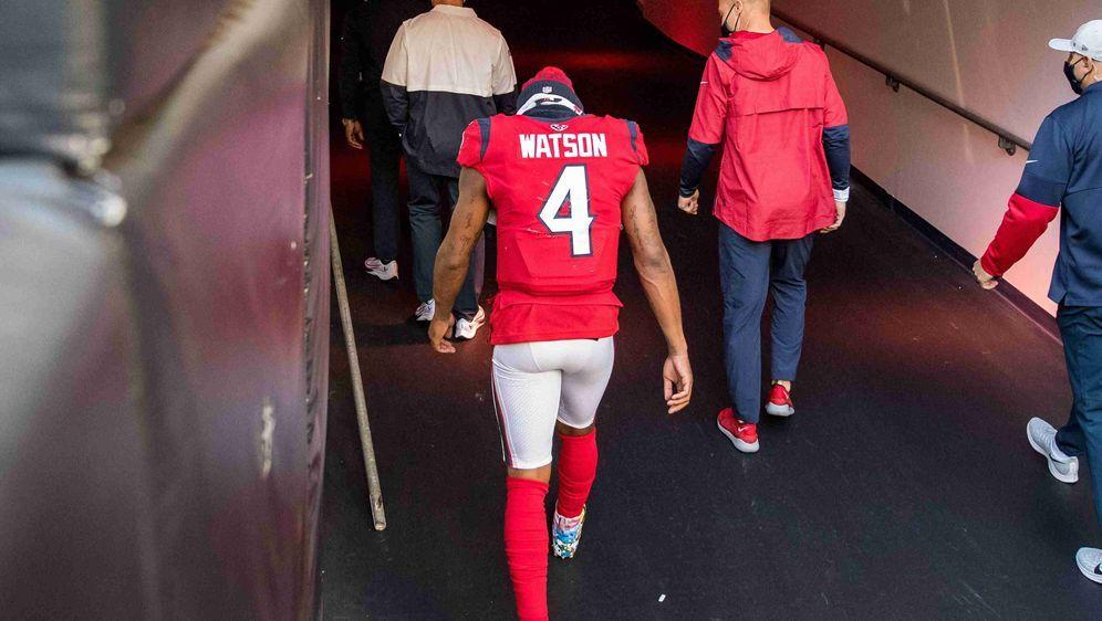 Spielt er nie mehr für die Houston Texans? Deshaun Watson. - Bildquelle: getty