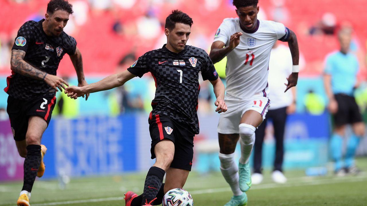 Vize-Weltmeister Kroatien mit Fehlstart - Bildquelle: 2021 Getty Images