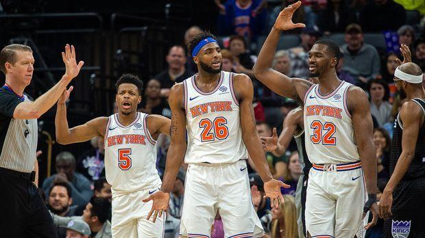New York Knicks Spielplan