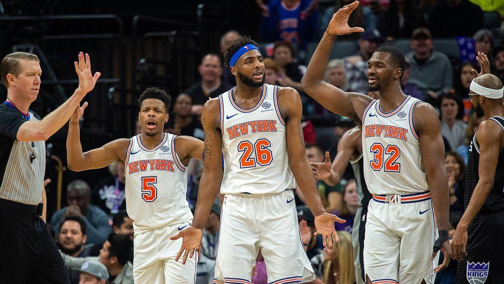 Die New York Knicks werden zur Lachnummer der NBA. - Bildquelle: imago