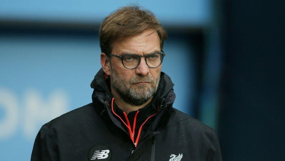 Jürgen Klopp zollt Manchester City Respekt - Bildquelle: FIRO FIROSID