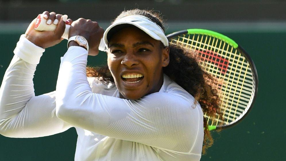 Serena Williams bleibt in Wimbledon ohne Satzverlust - Bildquelle: AFPAFPGlyn KIRK