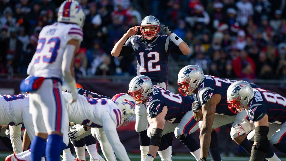 Starke Bills-Bilanz: Tom Brady. - Bildquelle: imago/UPI Photo