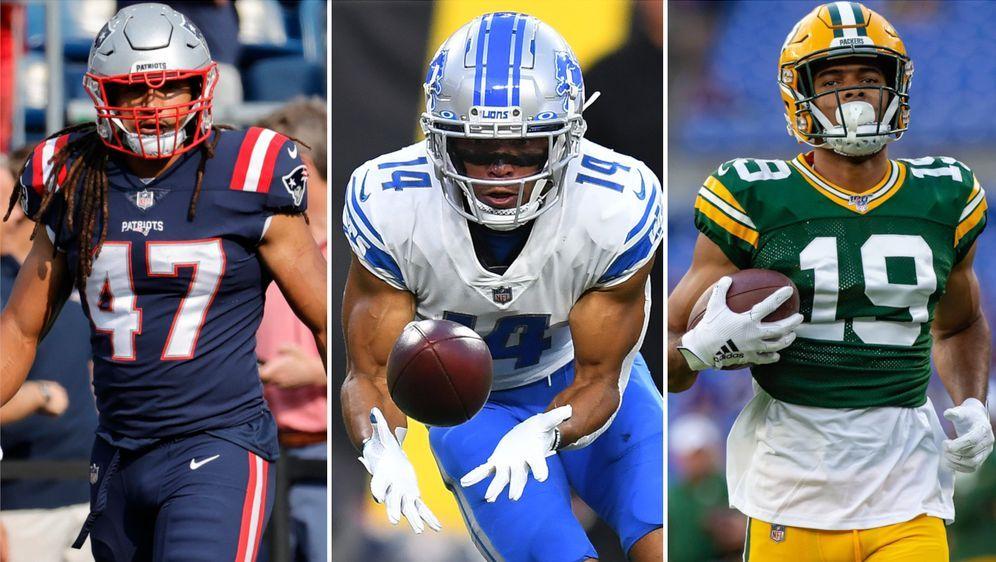 Drei Deutsche kamen in Woche zwei der NFL-Saison zum Einsatz. - Bildquelle: Getty Images/Imago Images
