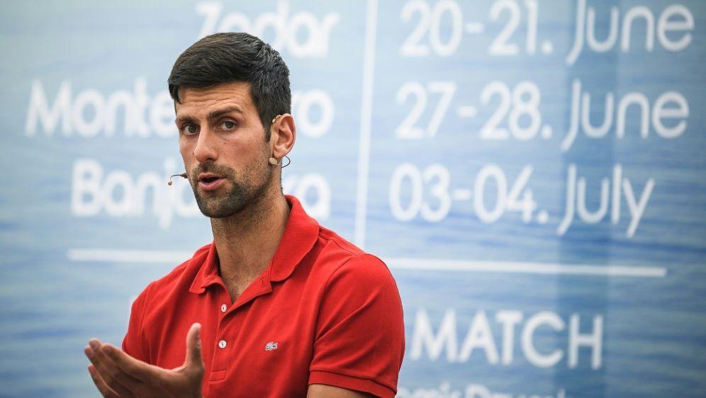 Djokovic kritisiert die Sicherheitsmaßnahmen der US Open - Bildquelle: AFPSIDANDREJ ISAKOVIC