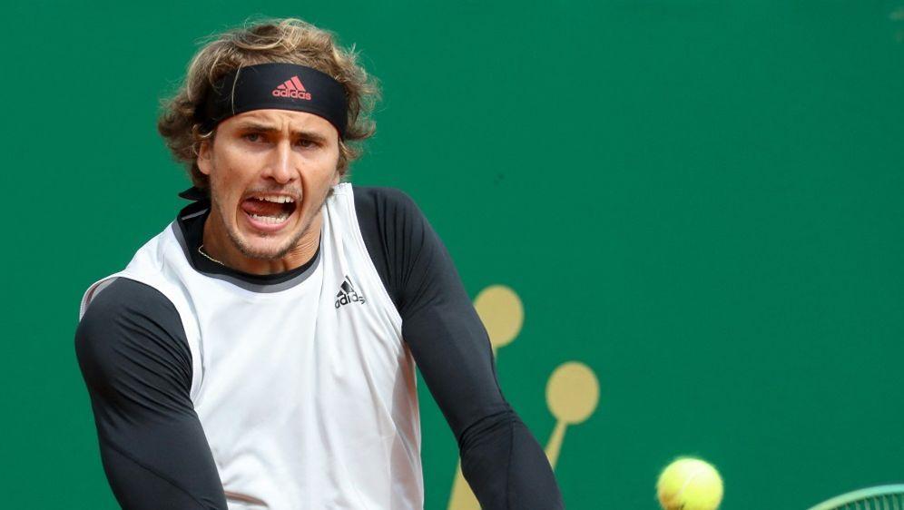 Aus beim Masters in Monte Carlo für Alexander Zverev - Bildquelle: AFPSIDVALERY HACHE