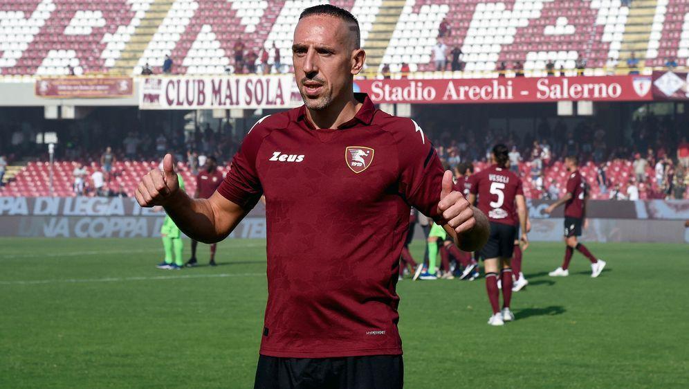 Franck Ribery setzt seine Karriere bei Salernitana fort - Bildquelle: Imago