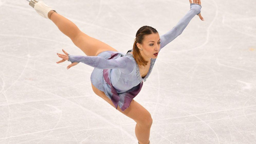 Nicole Schott auf Platz zwei mit bestem Saisonwettbewerb - Bildquelle: AFPSID